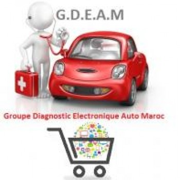 Logo du Vitrine: GDEAM GROUPE DIAGNOSTIQUE ELECTRONIQUE AUTO MAROC