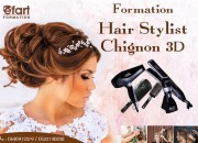 Photo de l'annonce: Formation Hair Stylist Chignon 3D