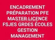 Photo de l'annonce: préparation PFE masters licences cours de soutien révision