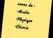 Photo de l'annonce: Cours de maths et physique chimie 2eme bac