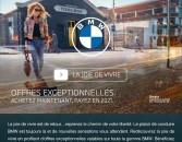 Offres exceptionnelles BMW ! Achetez maintenant, Payez en 2021