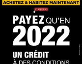 Prestigia: ACHETEZ & HABITEZ MAINTENANT, PAYEZ QU'EN 2022