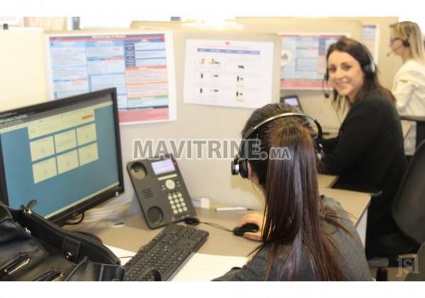 Job au Centre d'appel
