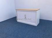 Photo de l'annonce: Armoire Basse MAGENCIA blanche 120x73cm