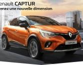 Nouveau Renault CAPTUR, Prenez une nouvelle dimension !