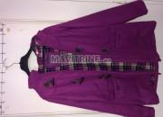 Photo de l'annonce: Manteau rose violet