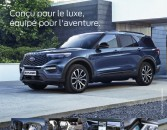Nouveau FORD Explorer Plug-In Hybrid !