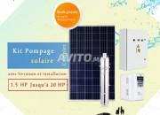 Photo de l'annonce: Kit Pompage Solaire Complet