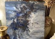 Photo de l'annonce: Acrylique pouring on Canvas «océan de lumière»