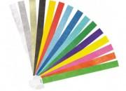 Photo de l'annonce: Bracelet tyvek et vinyle silicone rfid nfc tissu