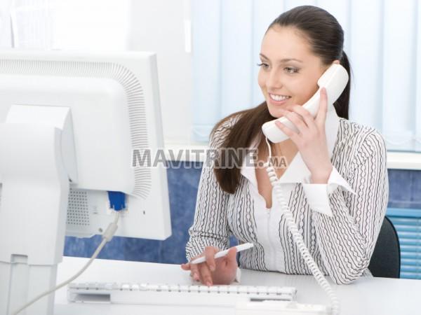 Pour les débutants Centre d'appel à Rabat besoin des téléconseillers