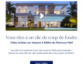 Terre Océane : Villas isolées sur-mesure à 550m du Morocco Mall