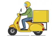 Photo de l'annonce: livreur avec moto