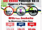 Photo de l'annonce: Formation ISO 22 000 version 2018